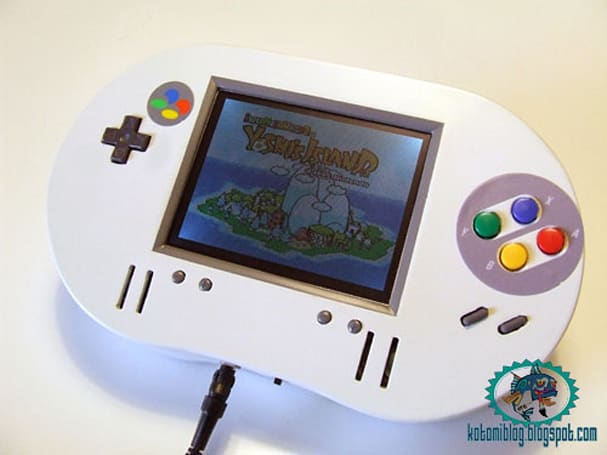 New SNES portable is heavy on the SNES, light on the portable