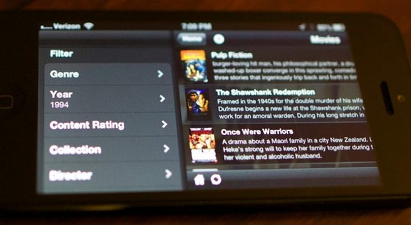 Plex for iOS 3.1 brings a mobile media server, deep content filters