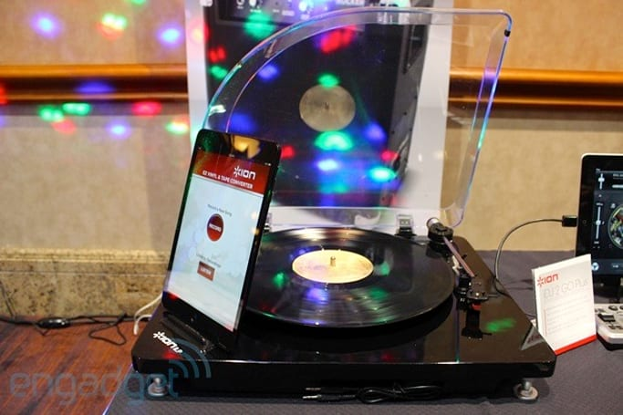 Ion reveals digital conversion turntables for iOS, PC and Mac, we go hands-on (update: video)