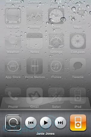 iPhone OS 4 beta 3 brings iPod widgets to the dock