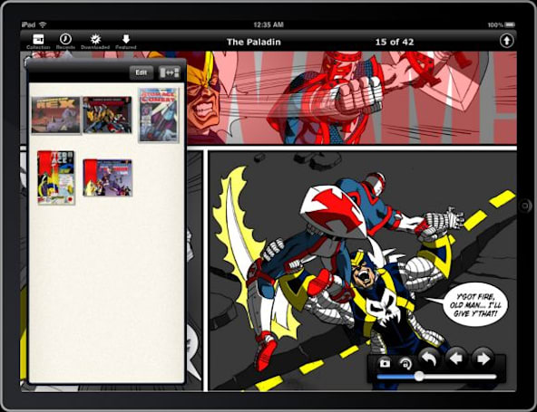 Comic Zeal 4 for the iPad previewed