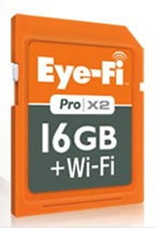 Eye-Fi releases 16GB Pro X2 wireless SD card, chops $20 from the price of the 8GB models