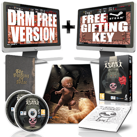 The Binding of Isaac: Unholy Edition splats across UK retail shelves March 16 [Update]