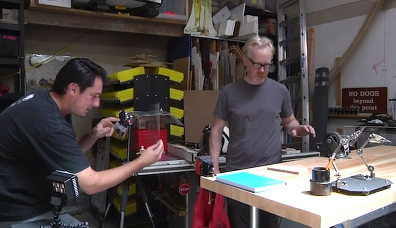 Mythbuster Adam Savage explains how to bring cartoons to the real world with an iPhone