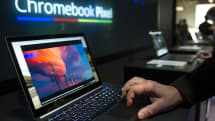 又有兩台 Chromebook 可以試用 Android App 囉