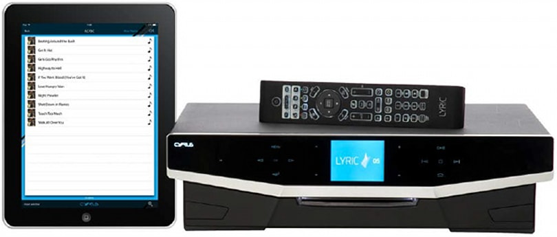 Cyrus Lyric plays high-grade audio from seemingly any source