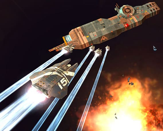 Indie company teamPixel crowdfunds to buy THQ's Homeworld IP