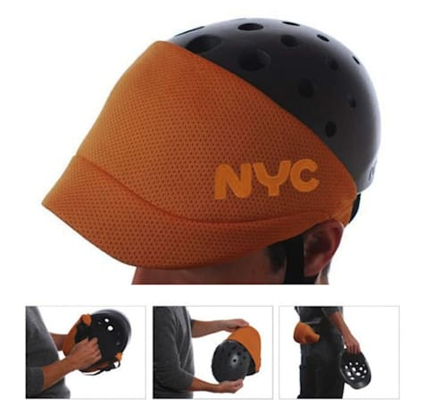 Fuseproject commissioned by the City of New York to make bike helmets look less bad