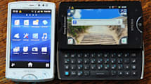 Sony Ericsson Xperia Mini and Mini Pro hands-on (update: video!)