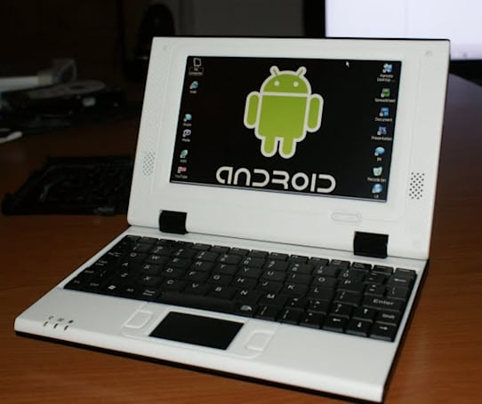 Menq's $80 EasyPC E790 netbook runs Windows CE now, should run Android later (video)