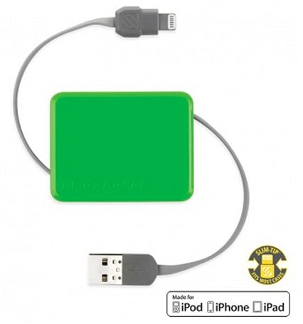 Scosche boltBOX retractable Lightning cable: a colorful accompaniment to your new iPhone