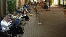 The psychology of Apple fans who sit in line