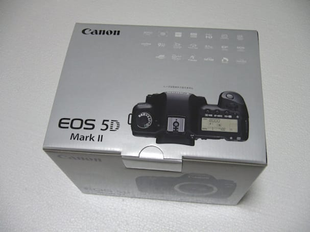 Canon EOS 5D Mark II unboxed