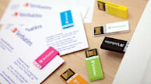 Verbatim's Clip-it is a USB drive with paperclip ambitions