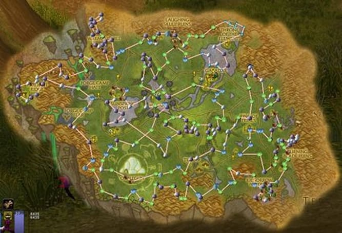 Overview of Cartographer Routes