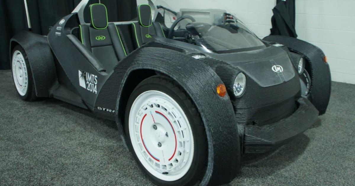 Local Motors 39 3d Printed Car Meets The Detroit Auto Show