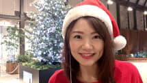 動画:パリピ必見!LEDサングラスをつけてクリスマスイルミネーションの前でフリーハグ