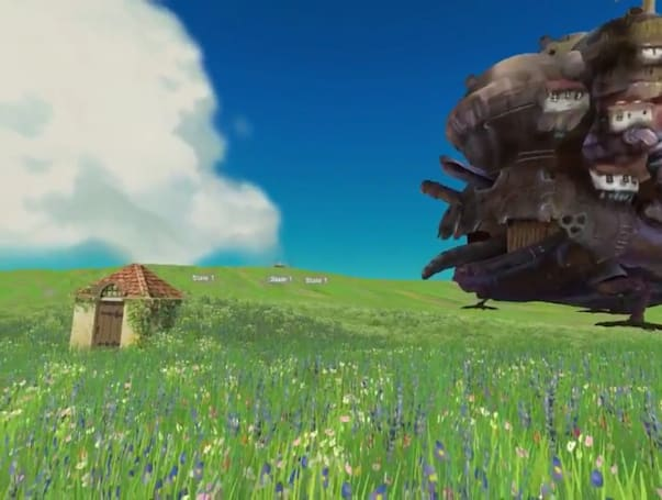 Check out some of Studio Ghibli's 'Howl's Moving Castle' in VR