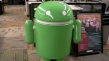 Beer cooler built in the shape of Google's Android... just because (video)