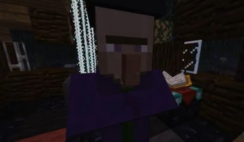 Minecraft's latest snapshot has a witchy woman