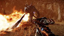 Evolve's latest footage hunts alone