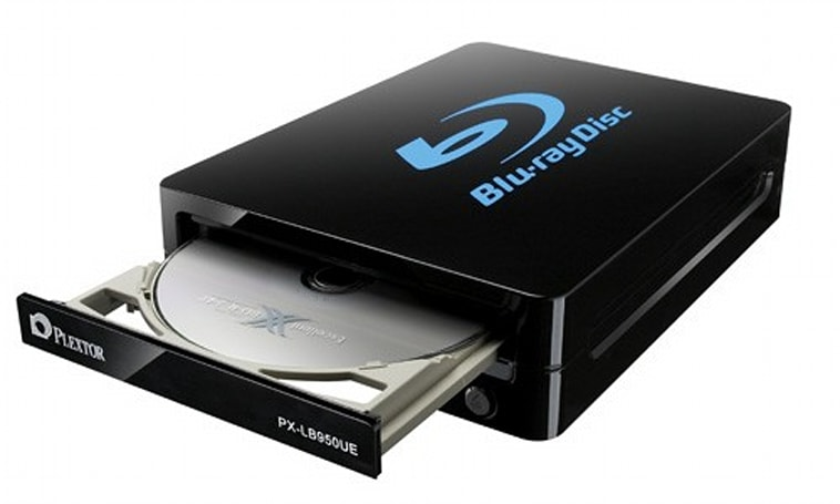 Plextor PL-LB950UE Blu-ray burner lands in the US with heady mix of USB 3.0 speed and double-layer storage