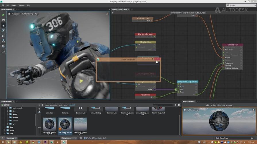 Autodesk Stingray Real Time Shader
