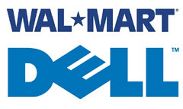 Dell laptop Wal-Mart bound as well