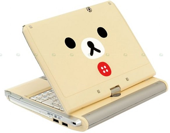 Bandai Rilakkuma netbook gets touchscreen and CPU boost, as precious as ever