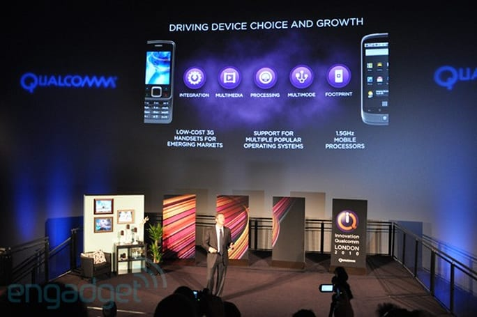 Qualcomm: 1.5GHz dual-core Snapdragon devices to arrive at end of 2011, 1.2GHz in Q1
