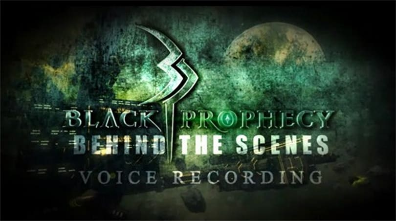 Video shows off voicework in Black Prophecy