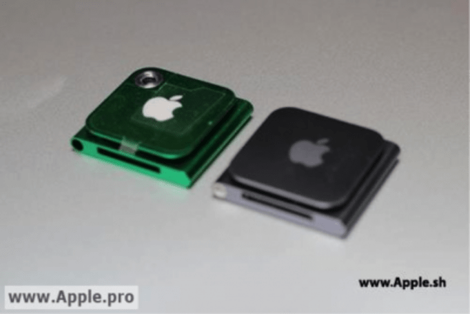 Supposed next-gen iPod Nano with camera leaks again, clip back in tow