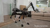 くちばしで家事もこなす四脚ロボSpotMini、ボストン・ダイナミクスが公開。初の完全電動化と小型化、センサつきアーム搭載可能