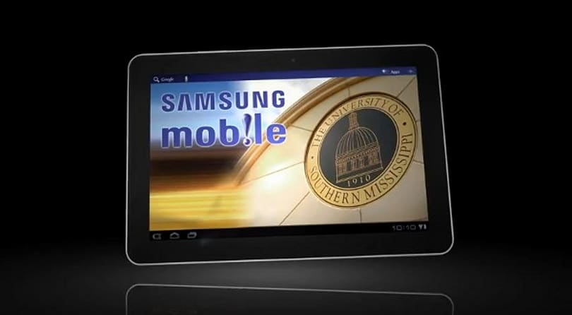 University of Southern Mississippi hands out Galaxy Tabs to honors students (video)