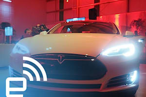 Tesla D Test Drive