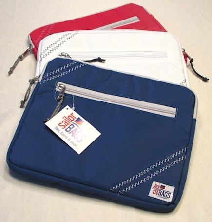 Sailor Bags iPad Sleeve adds a nautical theme to your favorite tablet
