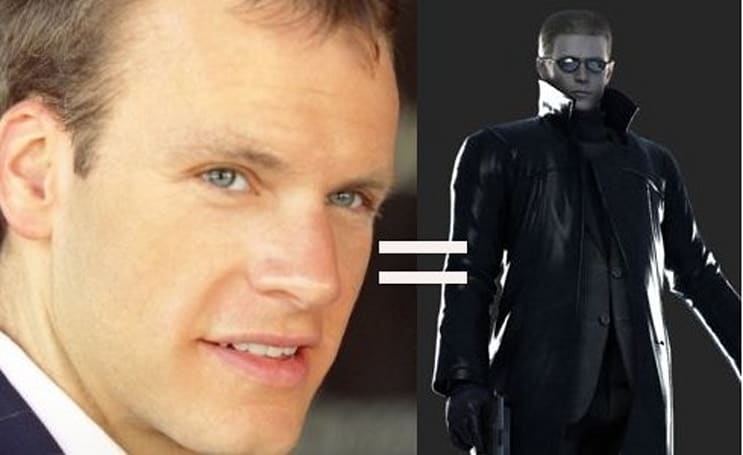Actor Ken Lally mo-capped as Resident Evil 5's Wesker