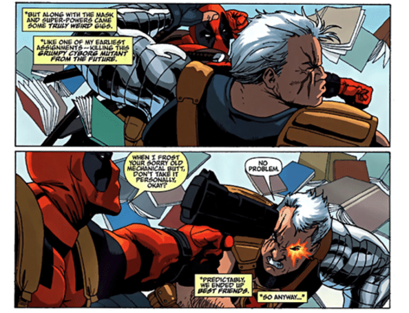 Deadpool reunites with Cable in High Moon game