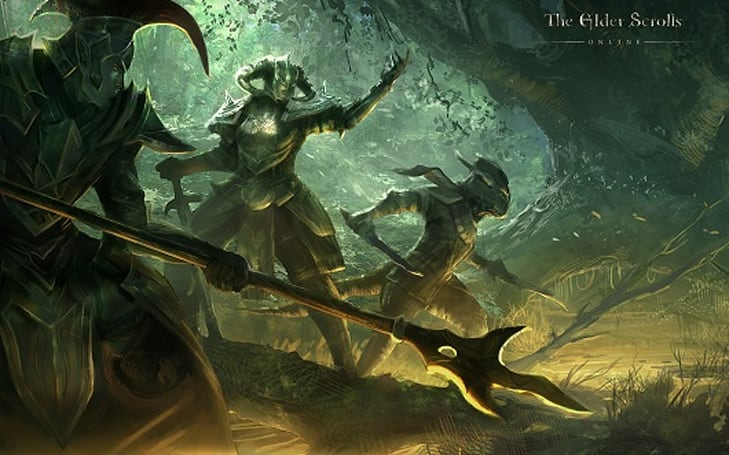 The Elder Scrolls Online gets shiny concept art, bi-weekly Q&A