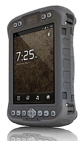 RAMPAGE 6 notepad runs Android 2.3 in a rugged package