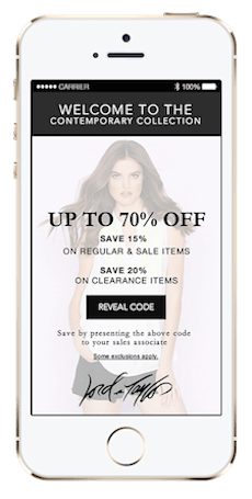iBeacons arrive today in Hudson's Bay, Lord & Taylor stores
