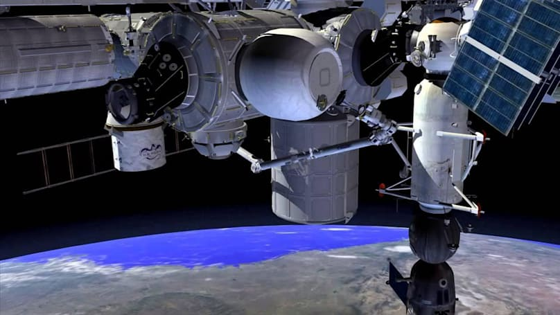 Watch NASA attach the first inflatable habitat on the ISS