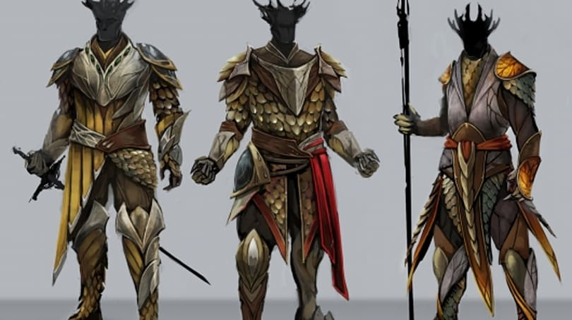 Camelot Unchained explores the designs of the Tuatha De Danann