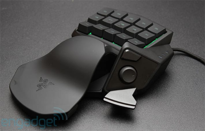 Razer announces the $79 Tartarus, a more affordable gaming keypad