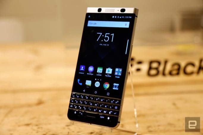 BlackBerry 的「Mercury」键盘机以 KEYone 之名正式登场