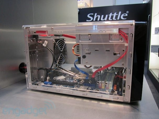 Shuttle H7 Pro, H3, and XG41 HTPC hands-on