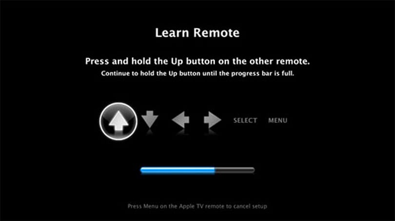 Teaching your Apple TV to use a 3rd party remote