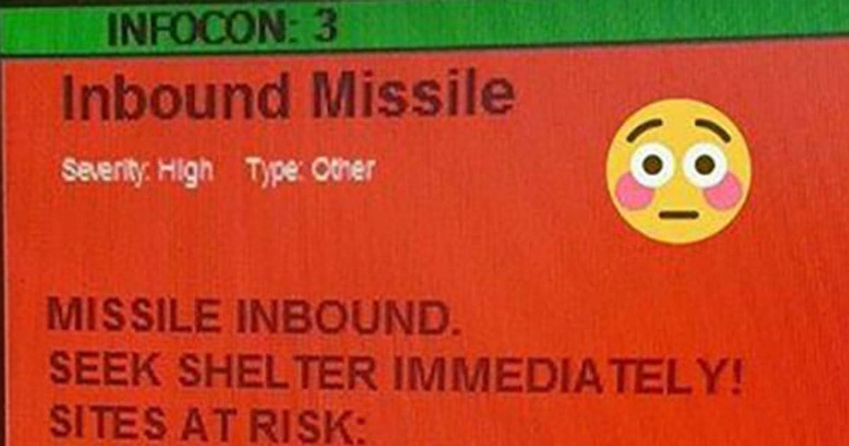Incoming! False Missile Warning Rattles Air Force Crew