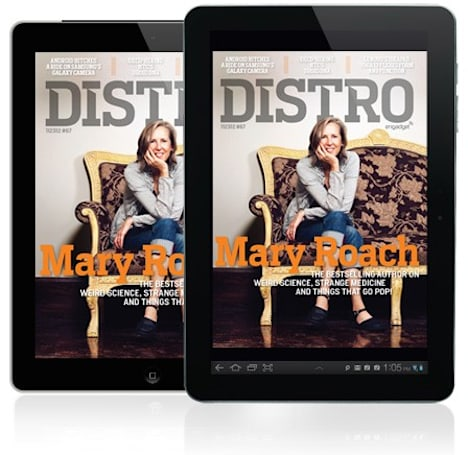 Distro Issue 67: Weird science and strange medicine with bestselling author Mary Roach