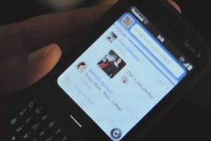 Palm Pixi Facebook App Demo